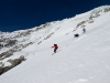 Skiing off the Pigne d'Arolla