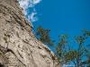 Climbing above Meiringen