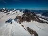 down the Aletsch Glacier