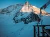 Sunset on the Mont Blanc de Cheilon from the Dix Hut