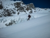 Mark, enjoying the awesome spring snow from the Pigne d\'Arolla